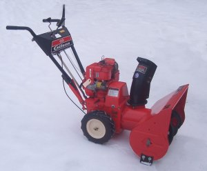 The Gilson SNOW BLOWER Shop Features Page