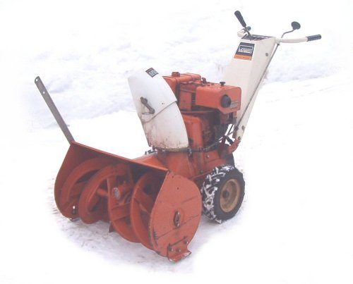The Gilsonian Institute - The Gilson SNOW BLOWER Shop Gallery